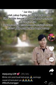 Read more about the article Viral di TikTok, Riko Tumangger Tenggelam dan Hilang di Air Terjun Lae Une, Simak Selengkapnya!